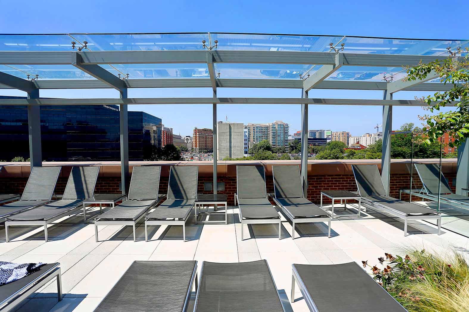 77 H Street Glass Canopy