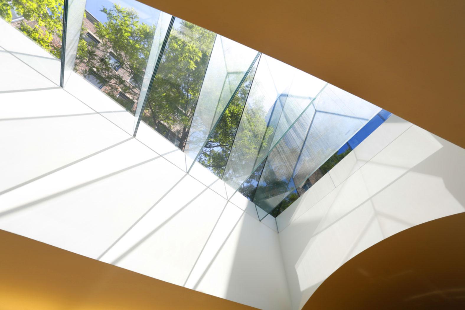 Harvard Fung Library Skylight