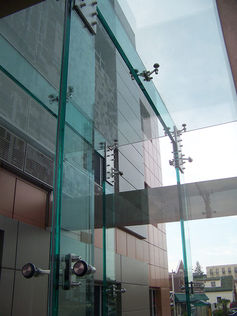 CD Adapco Headquarters Glass Vestibule