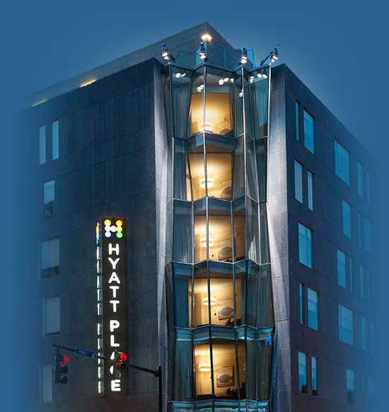 Structural Glass Project Hyatt Place