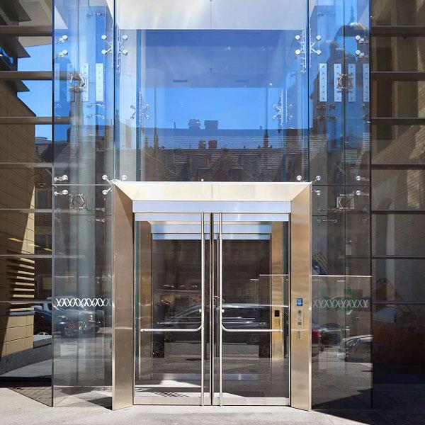 Structural Galss Vestibule