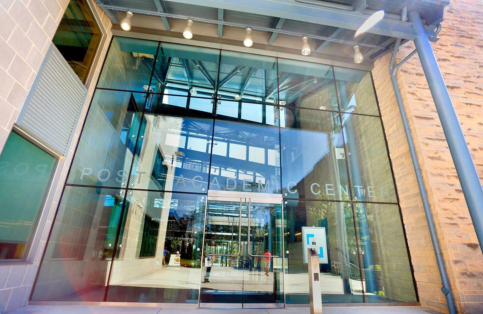 St. Joseph's University, Drexel Library Glass Vestibule