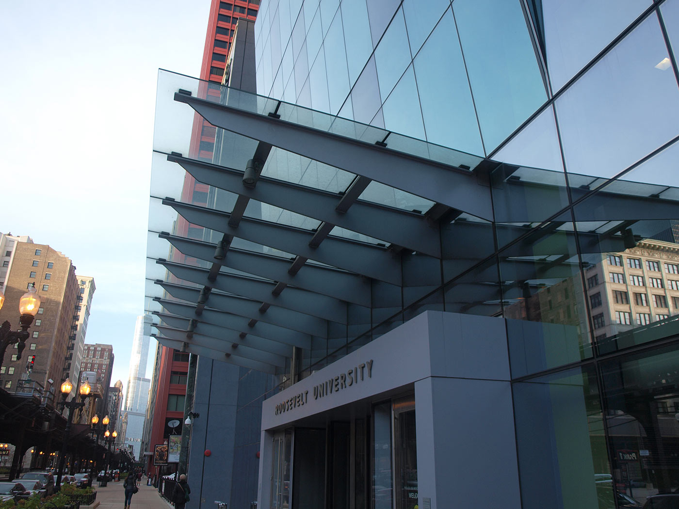 Roosevelt University Glass Canopy