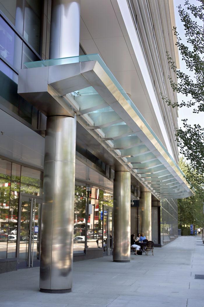 Longwood Center Glass Canopy