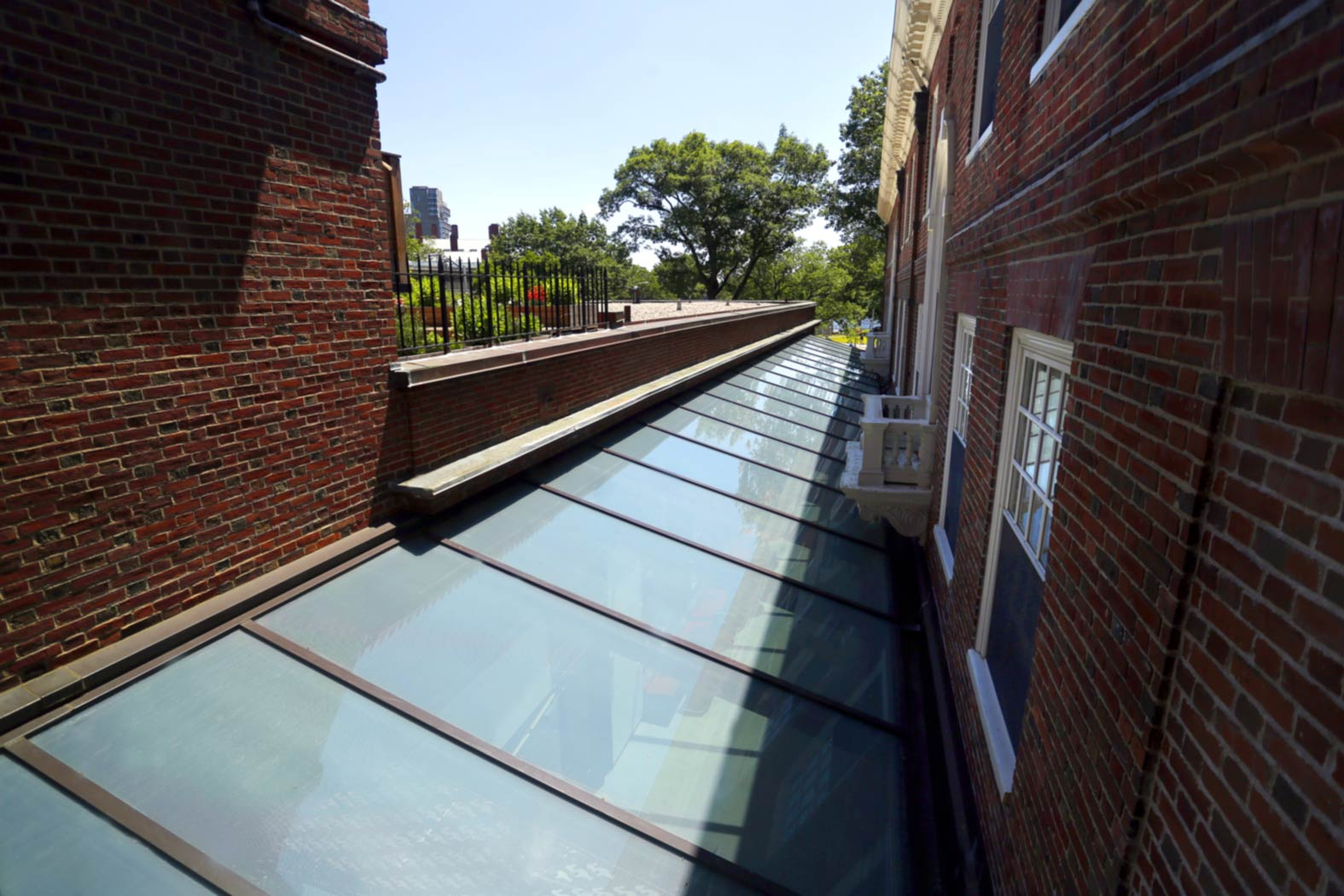 Harvard McKinlock Hall Courtyard Skylight