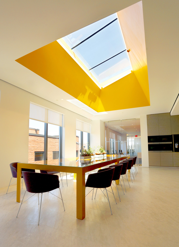 Pillsbury Skylight Project Interior
