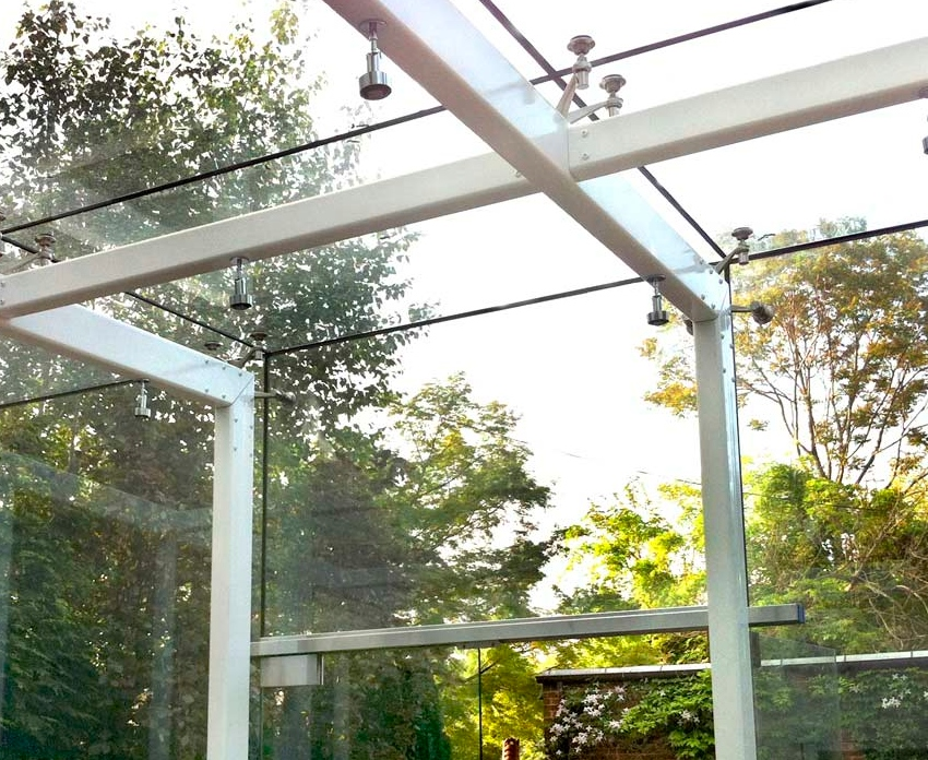 Glass Conservatory – Private Residence, constructed with Design Assistance by Bellwether