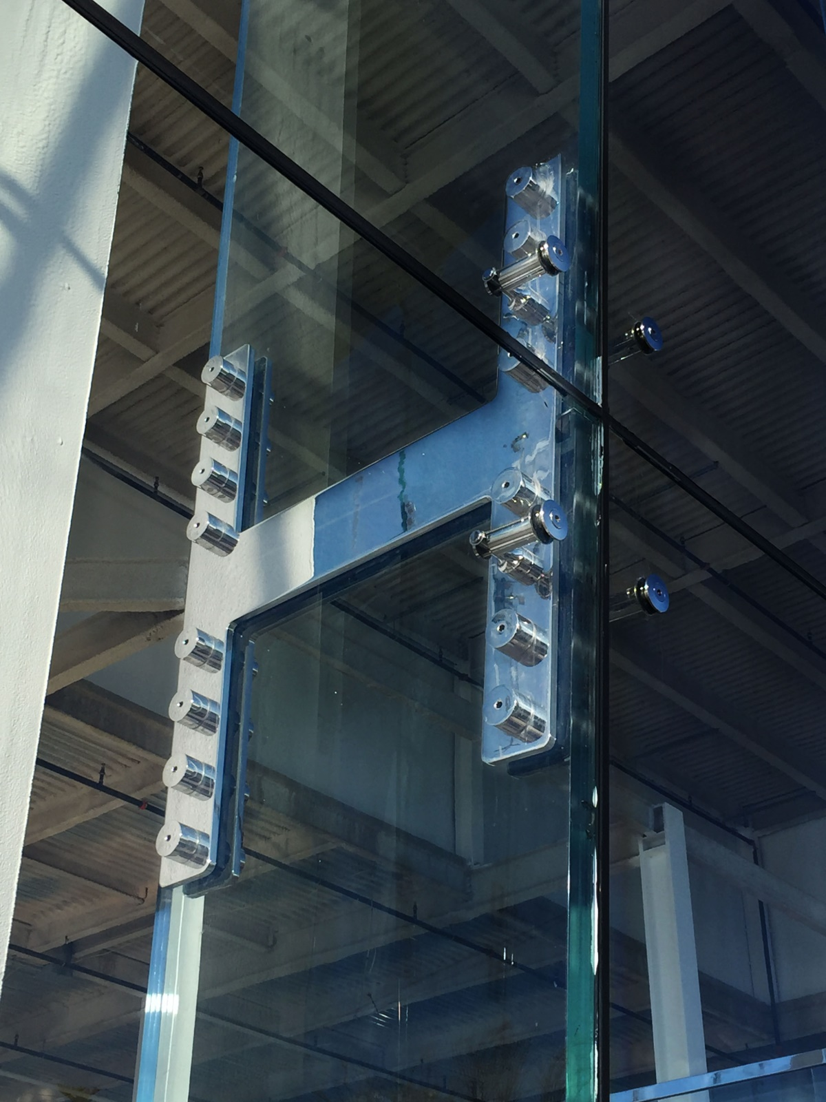 Structural Glass Wall Fittings